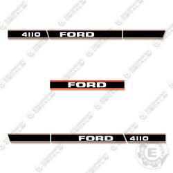 Ford 4110 Decal Kit Tractor - 7 Year 3m Vinyl