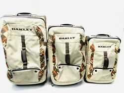 Roller Set Of 3 Suitcases Luggage W Carry On Bag Rolling Wheeled