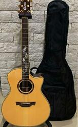 Crafter Dg Dragon-rose Acoustic Electric Guitar With Soft Case Rosewood 647.7mm