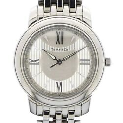 Wristwatch And Co. Mark Z0046.17.10a91a00a Men's Used Silver White