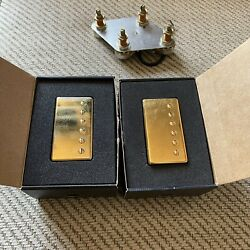 2009 Gibson Gold 490r/498t Humbucker Pickups With Pots And Wiring