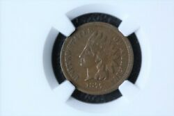 1877 Indian Head Cent Graded Vf-35 By Ngc Nice