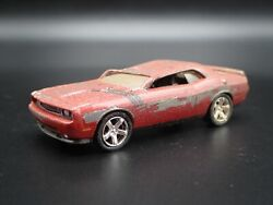 2011 Dodge Challenger Rt Roll Over Accident Wrecked 1/64 Scale Diecast Model Car