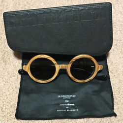 New Oliver Peoples Ryuichi Sakamoto Opmt 1 Sunglasses With Piano Type Case