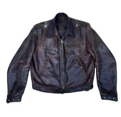 Authentic Ww2 German Luftwaffe Pilot's Leather Jacket, Gorgeous And Rare Original