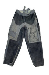 Authentic Ww2 German Luftwaffe Channel Pants Fur + Leather Rare