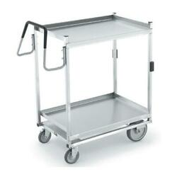 Vollrath - 97207 - 23 In X 35 In 2-tier Stainless Steel Utility Cart