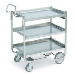 Vollrath - 97211 - 20 In X 30 In 3-tier Stainless Steel Utility Cart