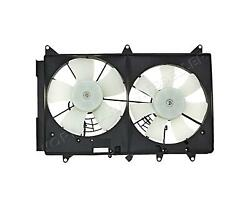 Radiator And Condenser Fan Assembly For Mazda Cx-7 L33l15025c