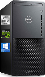 Dell Xps 8940 Gaming Tower Pc- I7-10700 - 32gb Ram 1tb Nvme Ssd + 1tb Backup H