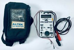 Altek 334a Loop Calibrator W/ Pouch - Powers On Untested