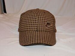 Nike Houndstooth Hat Mens/womens Golf And Basseball Style One Size Fits All