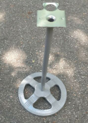 ford Gumball Machine Stand With Mounting Plate Solid Cast Iron