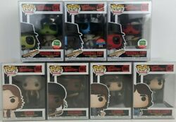 Funko Pop The Warriors Full Set Of 7 Pops With Protectors
