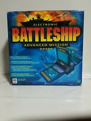 Electronic Battleship Advanced Mission Board Game 2000 Free Shipping