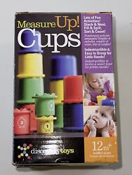 Discovery Toys Measure Up 12 Cups Toddler Toy Preschool Colors May Vary