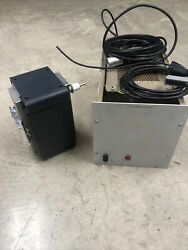 Varian Ion Pump And Power Supply A1/711418 From Working Cambridge Sem