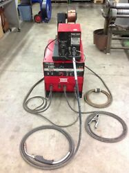 Lincoln Electric Cv-300 Mig Welder And Lincoln Electric Ln-7 Wire Feed