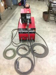 Lincoln Electric Idealarc Cv-300 Mig Welder And Lincoln Ln-7 Wire Feed