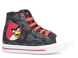 New Shoes Casual Low Shoes Boysand039 Shoes Angry Birds Black 28-35 8
