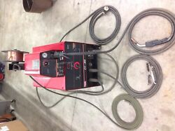 Lincoln Electric Cv-305 Mig Welder And Lincoln Lf-72 Wire Feed