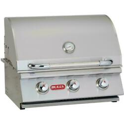 Bull Outdoor Products Steer Stainless Steel Gas Bbq Grill Head Ng