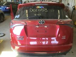 Trunk/hatch/tailgate Privacy Tint Glass Manual Lift Fits 16 Rav4 Red 2711878