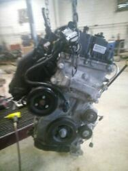 Engine 2.4l Engine Id Ede Pzev Automatic 9 Speed 4wd Fits 18 Compass 2776512