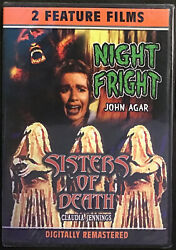 Night Fright/ Sister Of Death Double Feature Films On Dvd Brand New Factory Seal