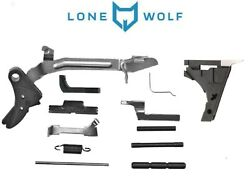Glock 17 Lower Parts Kit Lone Wolf Lwd Complete Fullsize Fits G17 G22