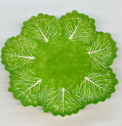 """Dodie Thayer Lettuce Ware 12"""" Platter Serving Tray - Rare Find"""