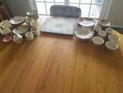Franciscan Desert Rose Hand Decorated China Collection