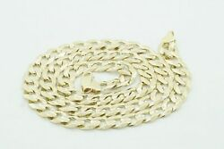 Menand039s Heavy 10k Yellow Gold Cuban Link Chain 22 8.5mm 21288