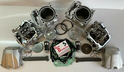 Top End Kit Head Cam Cylinder Piston For 2014 Can Am Commander 1000