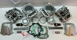 Top End Kit Head Cam Cylinder Piston For 2017 Can Am Commander 1000