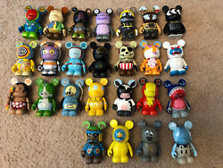 Disney Vinylmation Lot Of 25 All Parks Series Tom Morrow Chaser