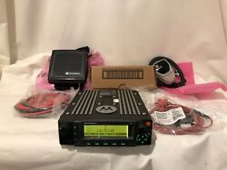 Motorola Apx 6500 M25urs9pw1an 7/800 Mhz P25 + Tdma With New Accessories