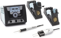 Weller Wx2021 Wxmp Wxmtwdh50 And 60 120v Solder And De-solder Station