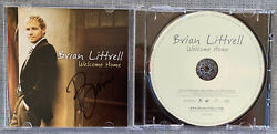 Backstreet Boys Brian Littrell Signed In-person Welcome Home Cd Cover -authentic