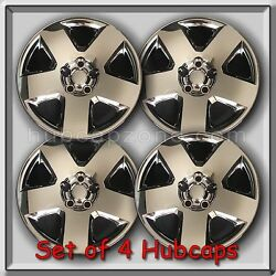 Set Of 4 17 Chrome 2008 Dodge Magnum Hubcaps, Bolt On Wheel Covers
