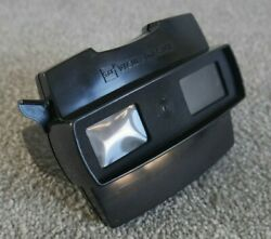 Scarce Black Gaf Viewmaster Model J Stereo Viewer Vintage 1970and039s Rare J709
