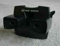 Black Gaf Viewmaster Model J Stereo Viewer Vintage 1970and039s Very Rare J260