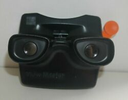 Vintage Gaf Viewmaster Model L Stereo Viewer 1980and039s Rare Scarce Black H595
