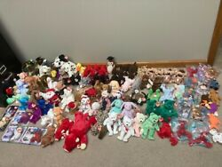 Ultimate Collection Of Rare Ty Beanie Babies Many Errors Huge Lot Mint Condition