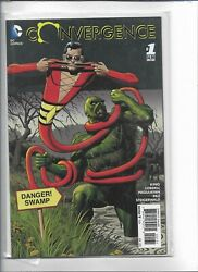 Convergence 1. Nm.2015 £7.50. Bolland Swamp Thing Variant Cover