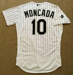 Yoan Moncada Mlb Holo Game Used Jersey 3 Home Run 2020 Chicago White Sox