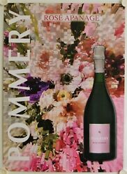 Affiche Champagne Pommery Rose Apanage
