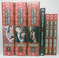 Battle Royale Ultimate Edition Lot 3-in-1 Omnibus Volumes 1-3 And 10 11 13 15