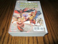 Teen Titans, New 52 Lot S 0 1-30, Annuals 1 2 3, Complete Run / Set, Nightwing