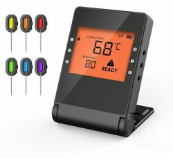 Professional Cooking Food Bluetooth Wireless Thermometer Oven Grill Free Mobile
